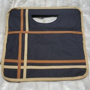 (Vintage) canvas purse